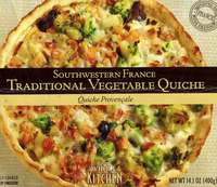 Southwestern France Traditional Vegetable Quiche - 14.1oz (400g)