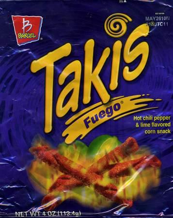 Takis Fuego - Hot Chili Pepper & Lime